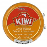 Kiwi Shoe Polish, Tan, 1.125 Ounces