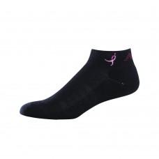 NB Komen Low Cut Socks, Medium, Black, 1 Pair