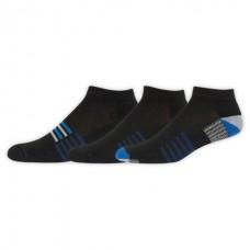 NB Core Performance Low Cut Socks, Large, Ast1, 3 Pair