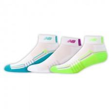 NB Core Performance Ankle Socks, Medium, Ast2, 3 Pair