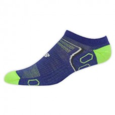 NB Tech Elite Nbx Merino Wool No Show Socks, Medium, Blgrn, 1 Pair