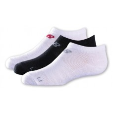 NB Kids No Show Socks, Large, Assorted, 3 Pair