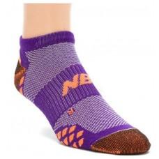 New Balance Womens Minimus No Show Purple, Medium Size (M 7.5-9 / W 6-10), 3 Pair Pack