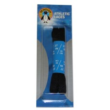 Penguin Athletic Sport Flat Laces, 27, Black