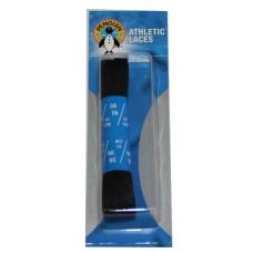 Penguin Athletic Sport Flat Laces, 36, Black