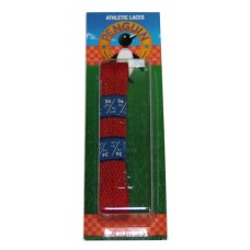 Penguin Athletic Sport Flat Laces, 36, Red