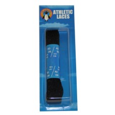 Penguin Athletic Sport Flat Laces, 40, Black