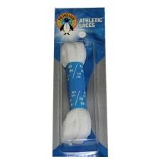 Penguin Athletic Sport Flat Laces, 40, White
