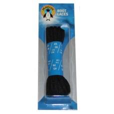 Penguin Hiker / Boot Laces, 45, Black