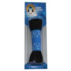 Penguin Hiker / Boot Laces, 54, Black