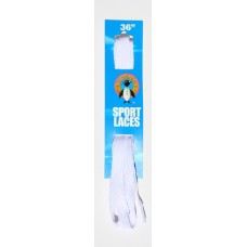 Penguin Skate Laces, 36, White