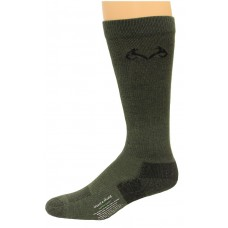 RealTree Insect Shield Over the Calf Socks, 1 Pair, Medium (W 6-9 / M 4-9), Olive