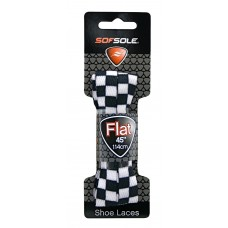 Sof Sole Novelty - Dog Bone, Black/White Check, 45 Inch