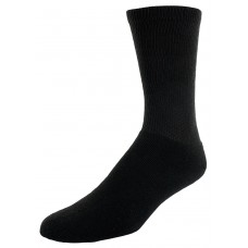 Sof Sole All Sport Crew Athletic Performance Socks, Black, Mens X-Large 13-15, 6-Pack