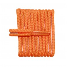 FootGalaxy High Quality Round Laces For Boots And Shoes, Pumpkin Orange