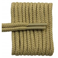 FootGalaxy High Quality Round Laces For Boots And Shoes, Tan