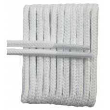 FootGalaxy High Quality Round Laces For Boots And Shoes, White