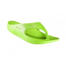 Telic Flip Flop Arch Supportive Recovery Sandal Unisex, Green