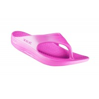 Telic Flip Flop Arch Supportive Recovery Sandal Unisex, Pink