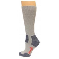 Riggs by Wrangler Steel Toe Boot Sock 2 Pack, Grey, M 8.5-10.5
